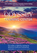 Odyssey Training Center - Fall 2015 - Winter 2016 Catalog